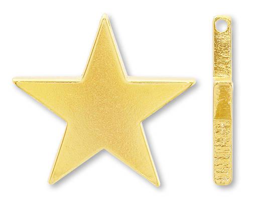 メタルパーツ 星 22mm