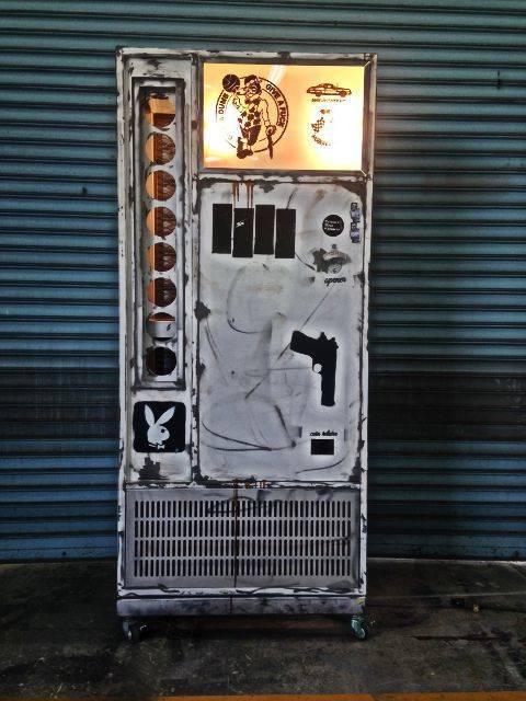 自販機shelf