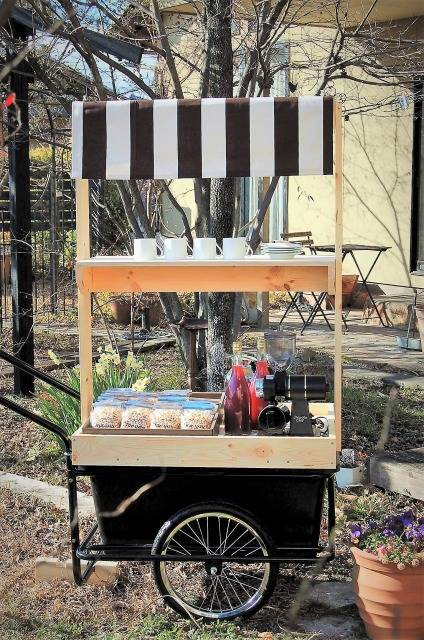「Mobile Coffee Stand」made by North Ridgeさん