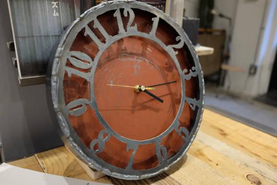 手造り時計