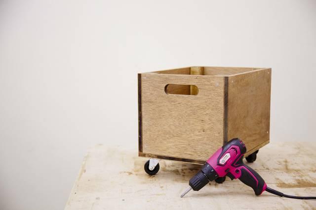 ドリル&ドライバーで作る、とにかく使えるウッドボックス