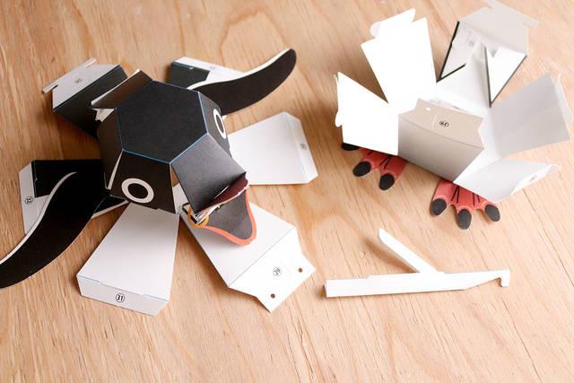 楽しく作れて面白く遊べる!ペーパークラフト「カミカラ」/CIRCLE of DIY Vol.30