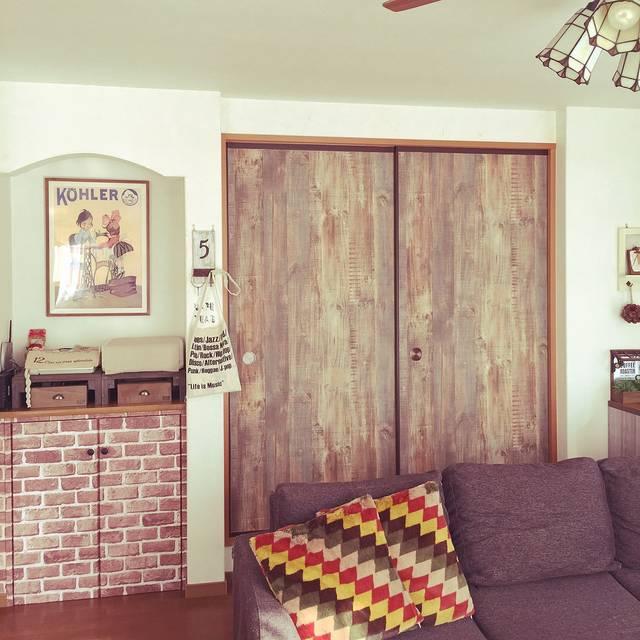 ふすまをDIY!部屋と調和させる方法を徹底研究32選