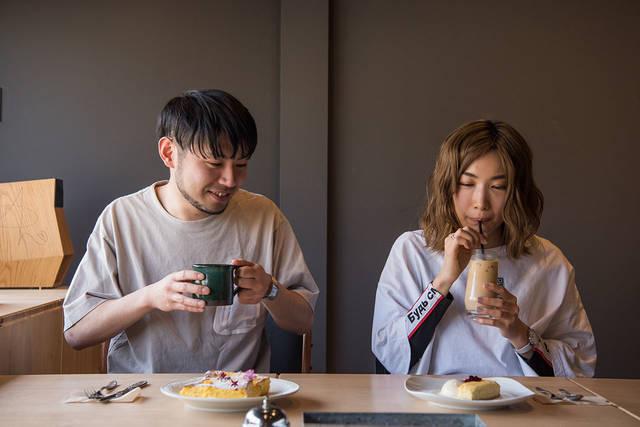 喫茶と甘味とよもやま話 〜Vol.02 中嶋イッキュウ(tricot)を魅惑する、ふわとろフレンチトーストとさっぱりチーズケーキ〜