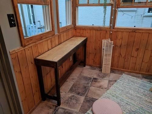 カウンターテーブルのDIY17選!お洒落なカフェ風キッチンを作ろう!