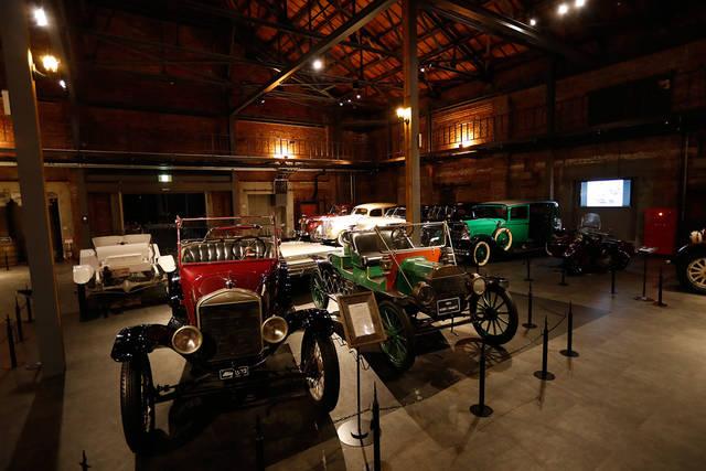 世界のクラシックカー×赤レンガ倉庫による夢の競演:G-LION MUSEUM