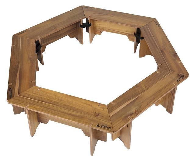 CSクラシックス ヘキサグリルテーブルセット(137)
