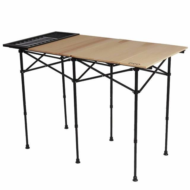 キャンプテーブルはこれで決まり!BBQにも使える編集部おすすめ20選