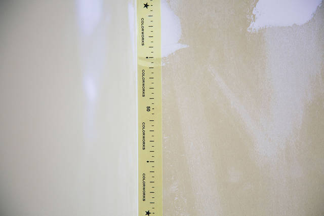 カラー珪藻土で壁色を模様替え!
