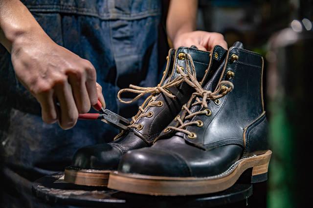 職人の声を聞く。一足入魂の靴作り