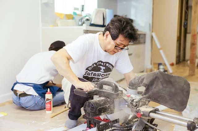 初DIYでセルフリノベーション!お笑い芸人・タケトが挑戦!