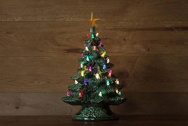 アリゾナから到着!ハンドメイドなクリスマスツリーが届きました