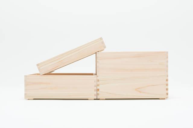 森を感じる収納ボックスA BOX!重ねて並べて片付け上手に。