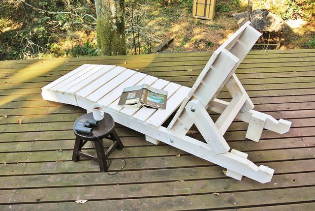 かんたん木工で作る!デッキチェア