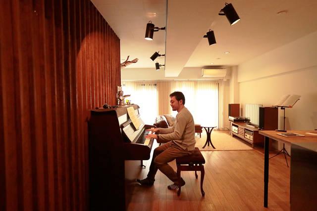 ピアノを中心とした部屋作りをリノベーションで叶える
