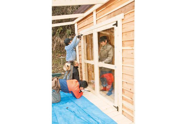 DIYで作れる!片屋根デッキ付きの多目的小屋制作ガイド