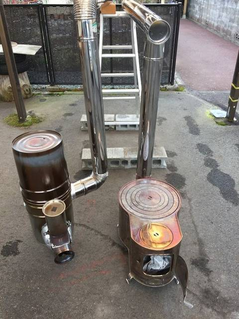 【ロケットストーブの作り方】耐火レンガ&コンクリートでDIY!