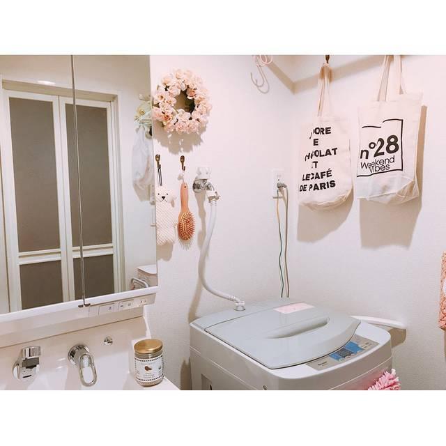 【ランドリーラック】DIY洗濯機ラックで脱衣所をスッキリ収納!