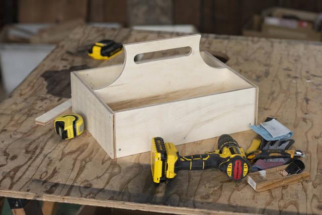 収納付きダストボックス(ゴミ箱)をDIY!マルチに使えるツールボックス編
