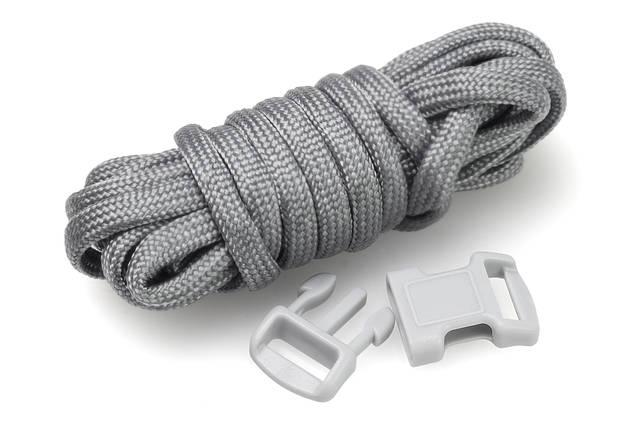 【パラコードの編み方】平編みでラッピングやブレスレットに挑戦!