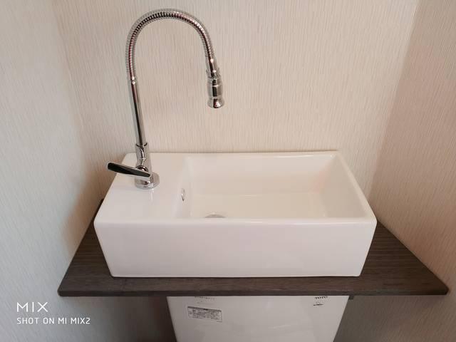 トイレをもっと快適に!手洗いの後付け費用は?DIYでもできる?