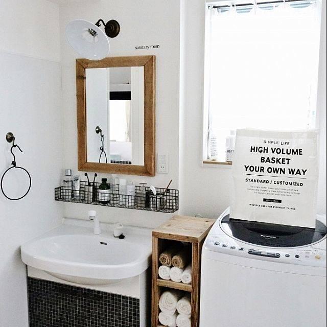 洗面台収納DIYアイデア集!隙間の有効活用でスッキリ片付く!