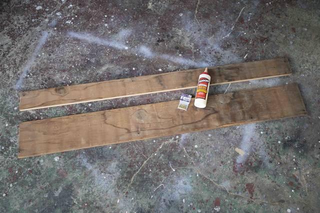 たった4枚の板でベンチが完成!侘び寂びを感じる和モダン家具