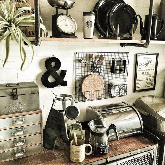 インダストリアルなキッチンを作るDIYアイデアとポイント
