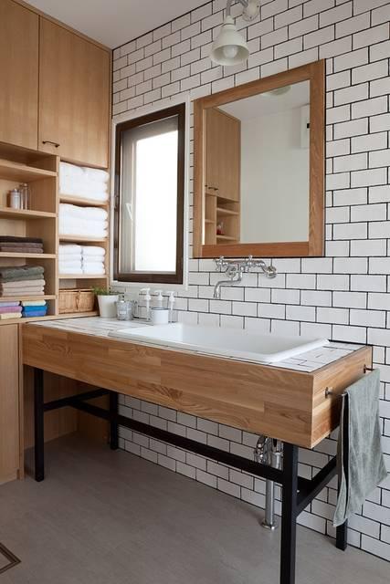 オシャレな北欧風空間を作る!洗面台選びのコツと参考実例