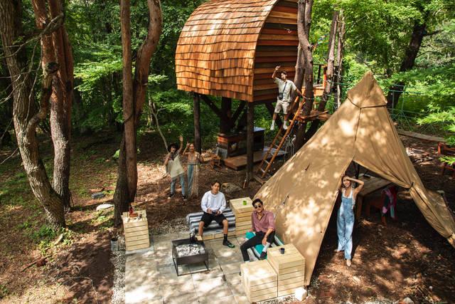 四季や昼夜を問わず映えまくり!?DJIも認めたツリーハウスが福島県に誕生!