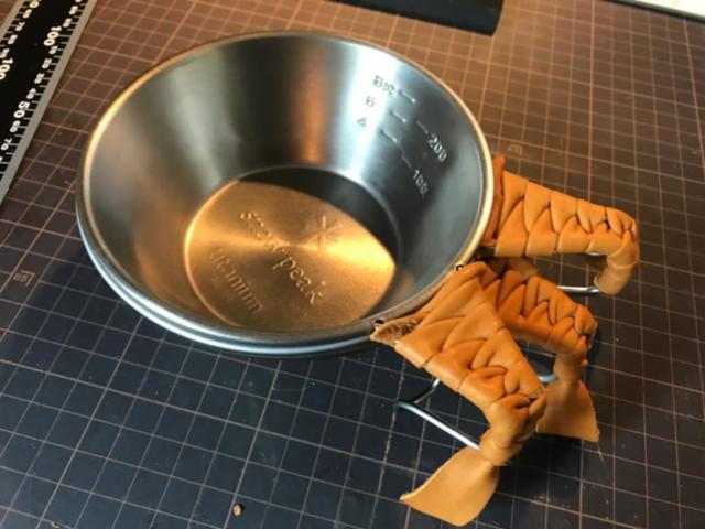 レザーグリップをDIY!縫わない&金具不使用で簡単!