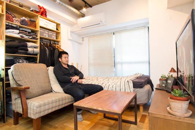 リノベ部屋に一手間!DIY家具で自分仕様に仕上げた究極の癒し空間