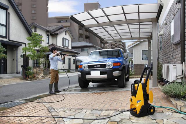 今年の大掃除はネクストレベルへ! 高圧洗浄機でお家丸ごとさっぱり年越し。