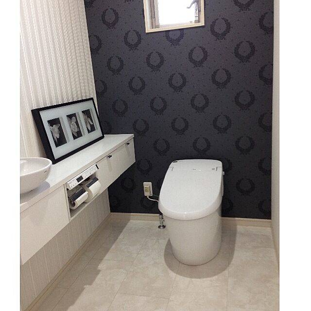 """トイレをもっとオシャレに!ホテルライクな""""高級感""""を作る内装アイデア"""
