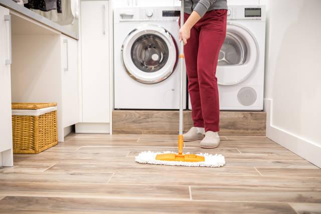 見た目も機能性も◎洗面所の床に最適なクッションフロア!