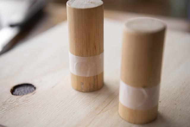 材料は3つだけ!シンプルかわいいドアノブをDIY!