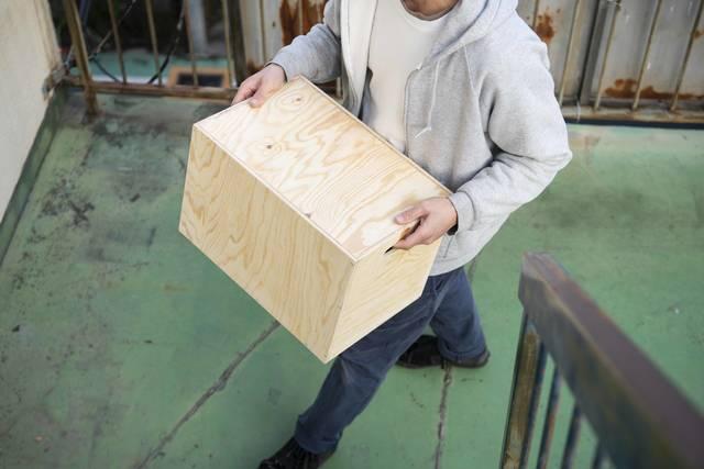 タテ・ヨコ自由にたっぷり収納!マルチに使えるボックスラック