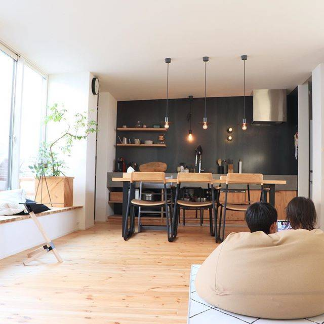 映える!オシャレな壁付けキッチンで広~いLDK空間を叶えよう!