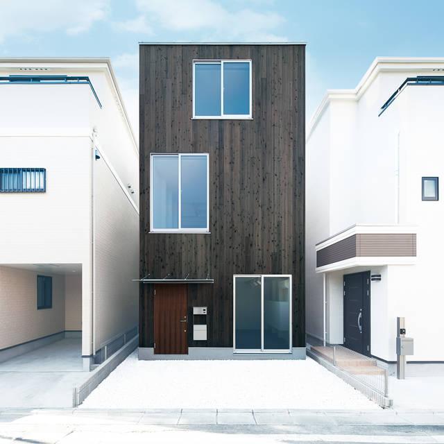 """新感覚の都市型住宅!『縦の家』で""""編集する""""自分らしい生活。"""