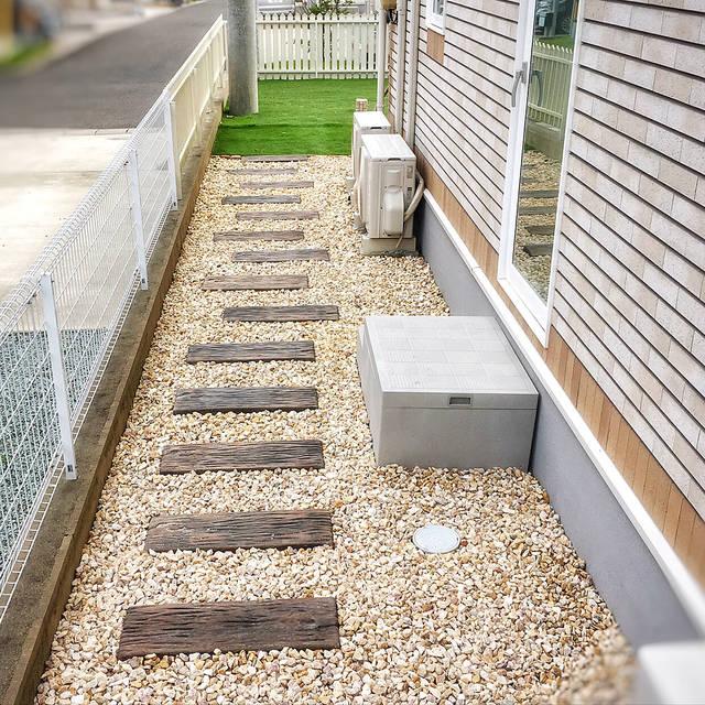庭に砂利を敷きたい!化粧砂利の施工例とオシャレな庭作りのヒント