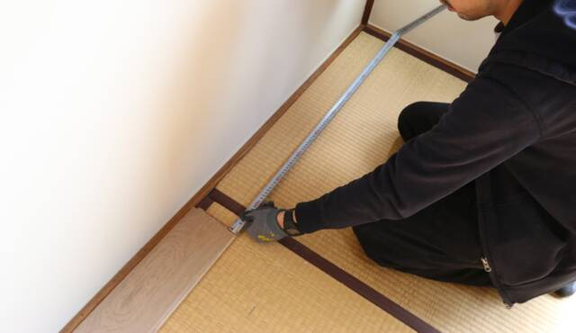 畳→フローリングのリフォーム、費用の相場は?DIY手順と注意点も解説!