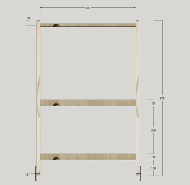 干せて、畳めて、転がせます!IKEAバッグで作るランドリーワゴンをDIY!