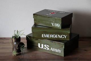 ワクワクのミリタリーボックス。 | made by RIKAさん