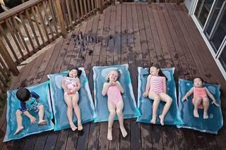 夏の暑さをしのぐウォーターベッド