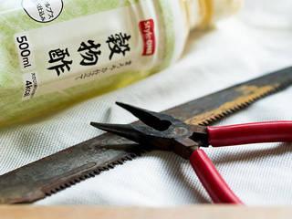 【関連記事】サビ取りには熱した酢が効果的!工具のケア実践編!! | DIYer(s)