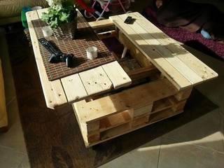 スライド式のパレットテーブル