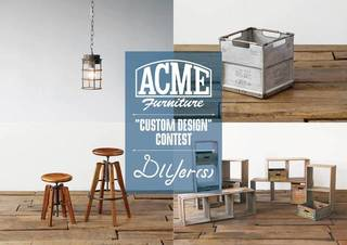 【ACME Furniture×DIYer(s)】リメイク・カスタムアイデア投稿コンテスト!!