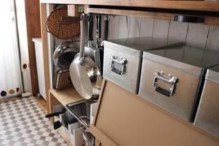 激狭キッチンにアレを使ってスッキリ収納DIY! | sayo.さんの投稿