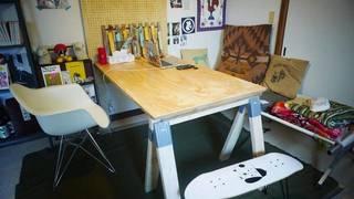 【コスパ◎】ソーホースブラケットで机をDIY | DIYer(s)
