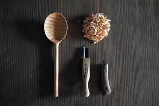 お鍋に炒め物に大活躍の木杓子をDIY!続・ナイフで木を削るために抑えておくべきポイント。 | DIYer(s)
